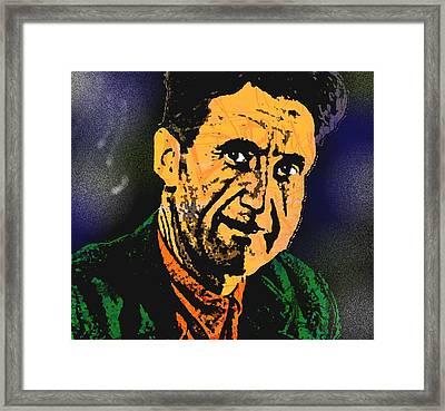 George Orwell-2 Framed Print by Otis Porritt