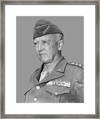 George S. Patton Framed Print by War Is Hell Store