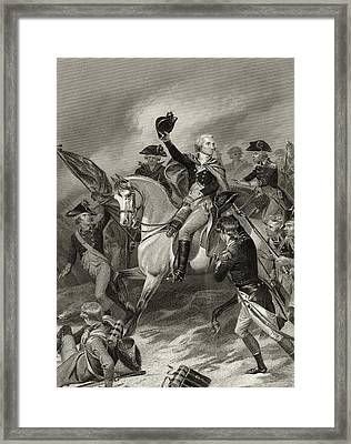 George Washington 1732 To 1799 At The Framed Print by Vintage Design Pics