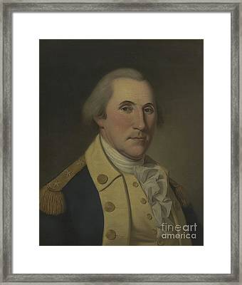 George Washington, 1788 Framed Print by Charles Willson Peale