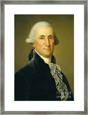 George Washington, 1795 Framed Print