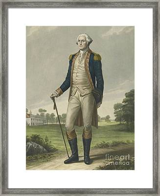 George Washington, 1859 Framed Print by Hezekiah Wright Smith