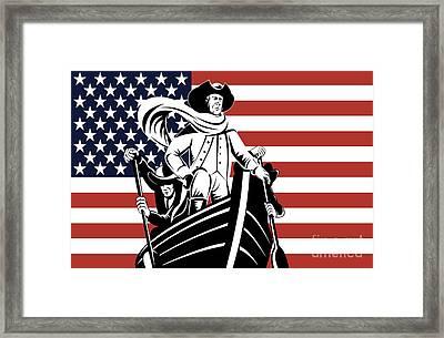 George Washington Framed Print by Aloysius Patrimonio