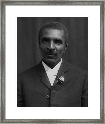 George Washington Carver Portrait Framed Print