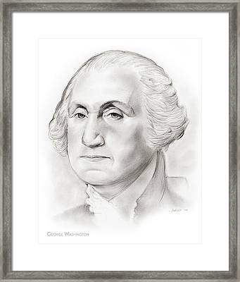 George Washington Framed Print by Greg Joens