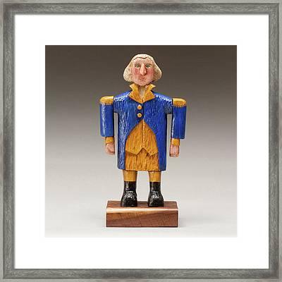 George Washington Framed Print by James Neill