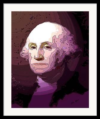 Washington Drawings Framed Prints