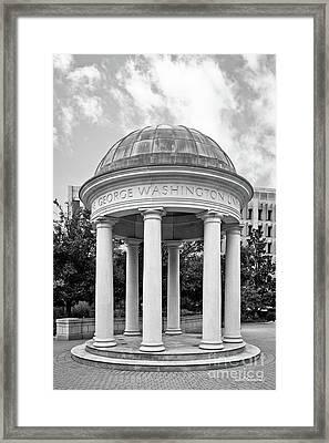 George Washington University Kogan Plaza Framed Print