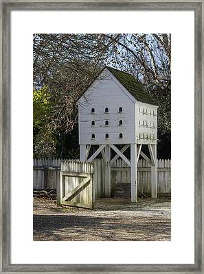 George Wythe Dovecote Framed Print