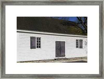 George Wythe Kitchen 01 Framed Print