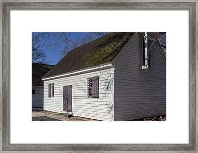 George Wythe Kitchen 02 Framed Print