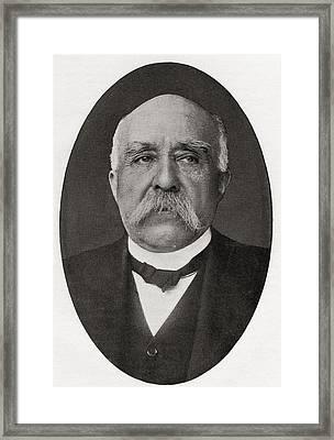 Georges Benjamin Clemenceau, 1841 Framed Print by Vintage Design Pics