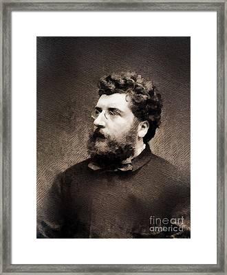 Georges Bizet, Composer Framed Print by John Springfield