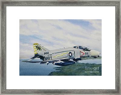 George's Fighter Plane Framed Print
