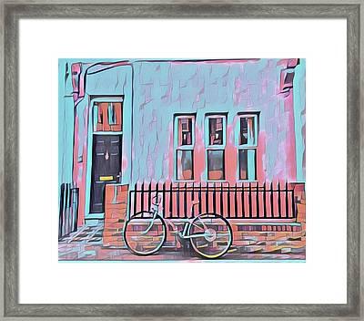 Georgetown Cycle Framed Print