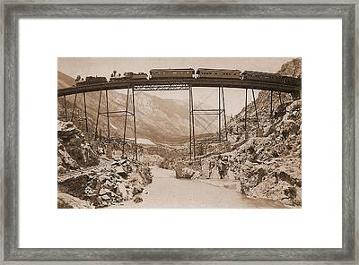 Georgetown Loop Framed Print by Steve Keller