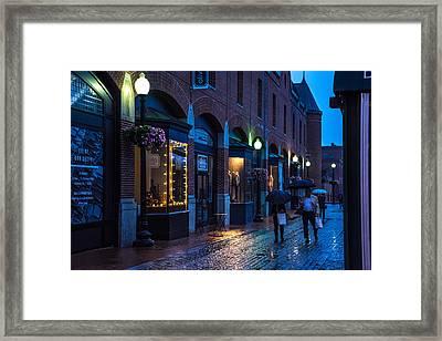 Georgetown Night Framed Print