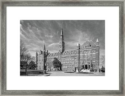 Georgetown University Healy Hall Framed Print