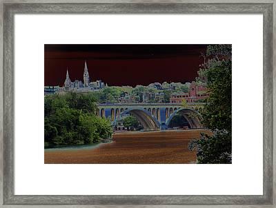 Georgetown5523 Framed Print by Carolyn Stagger Cokley