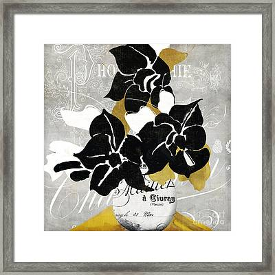 Georgette II Framed Print by Mindy Sommers