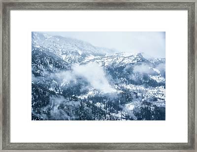 Georgia In Winter Framed Print