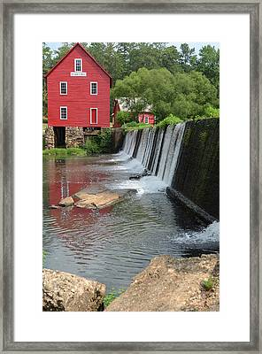 Georgia Mill Framed Print by Margaret Palmer