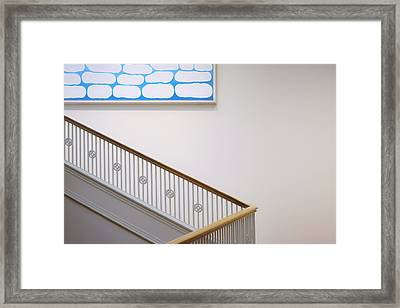 Georgia O'keeffe - Above Stairs Framed Print by Nikolyn McDonald