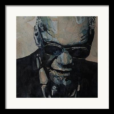Watercolour Portrait Framed Prints