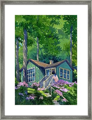 Georgia Townsend House Framed Print