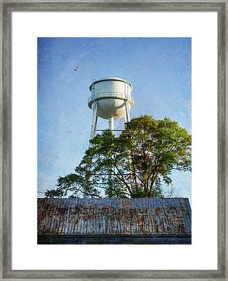 Georgia Water Tower Framed Print