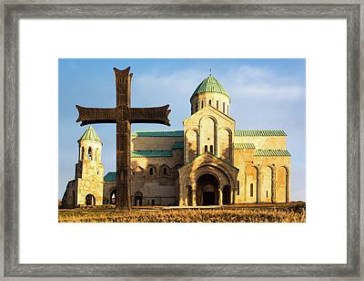Georgian Cathedral Framed Print by Svetlana Sewell