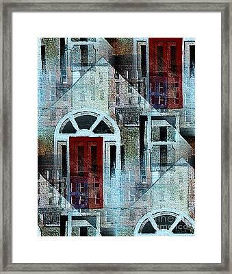 Georgian Dublin Framed Print