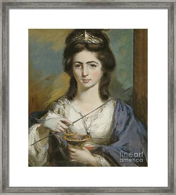 Georgiana Spencer Duchess Of Devonshire Framed Print by Celestial Images