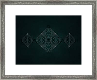 Geosymmetry 651 Framed Print by Edouard Coleman