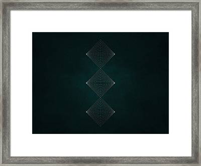 Geosymmetry 9i Framed Print by Edouard Coleman