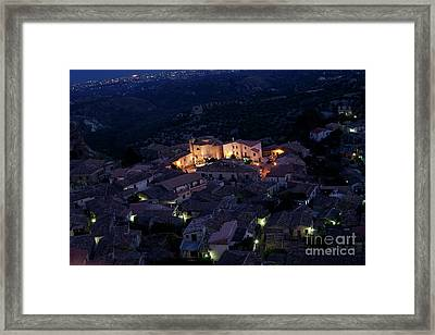 Framed Print featuring the photograph Gerace by Bruno Spagnolo