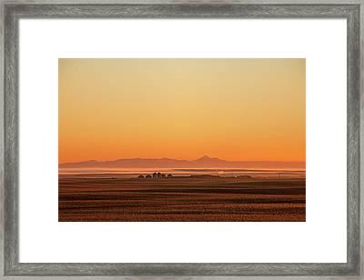 Geraldine Farm Framed Print by Todd Klassy