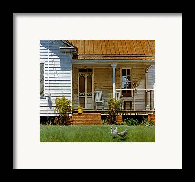 Porch Framed Prints