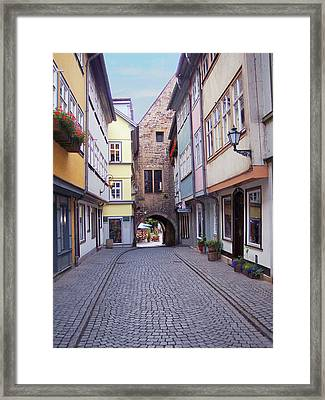 German Bridge Framed Print