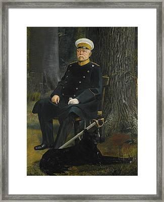 German Chancellor Otto Von Bismarck Framed Print