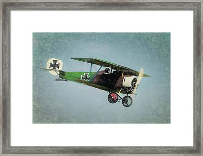Framed Print featuring the photograph German Fighter by James Barber
