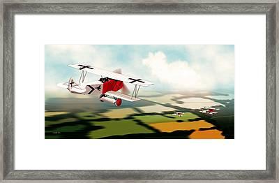 German Fokker D7 Ww1 Fighter Framed Print