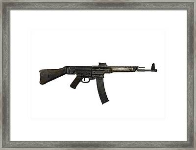 German Mp-44 Assault Rifle Framed Print by Andrew Chittock