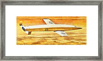German Sanger Silbervogel Bomber - Da Framed Print