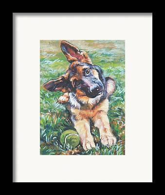Dogs Framed Prints