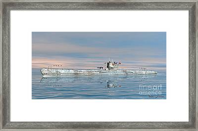 German Submarine U-99 Framed Print