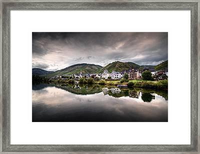 German Village Framed Print