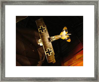 German Wwi Attack Framed Print by Tommy Anderson