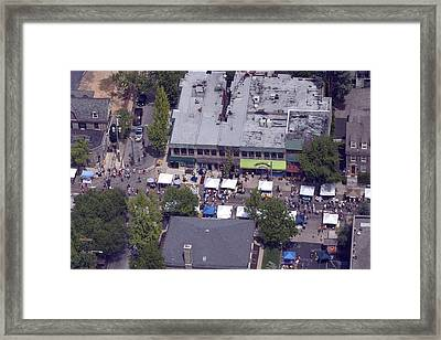 Germantown Ave Chhgf Framed Print by Duncan Pearson