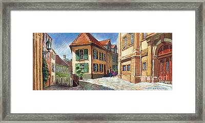 Germany Baden-baden 04 Framed Print by Yuriy  Shevchuk